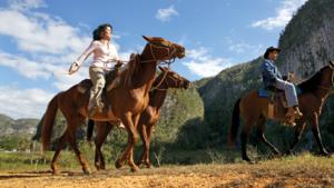 Horse riding, Viñales
